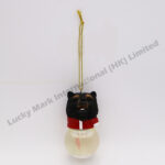 Polyresin Yellowstone Black Bear Snow Globe Ornament (Customer Design)