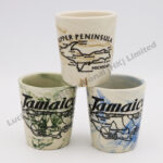 Marble Matte Finish Shot Cup