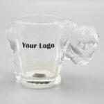 Buffalo Shaped Shot Glass