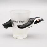 Penguin Shaped Shot Glass