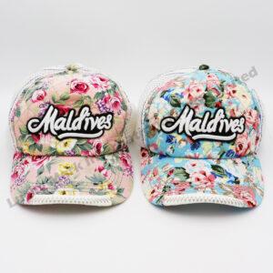 Flowers Cotton Baseball Cap (Customer Design)
