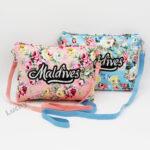 Flowers Cotton Single-Shoulder Bag (Customer Design)