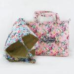 Flowers Cotton Tote Bag (Customer Design)