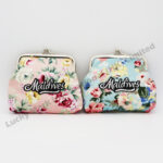 Flowers Cotton Purse (Customer Design)