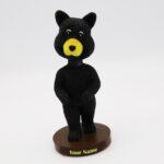 Polyresin Bobblehead Black Bear Decorations