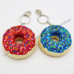 Sponge Donut Keychain