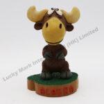Polyresin Bobblehead Moose Decorations