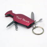 Stainless Steel Keychain Knife