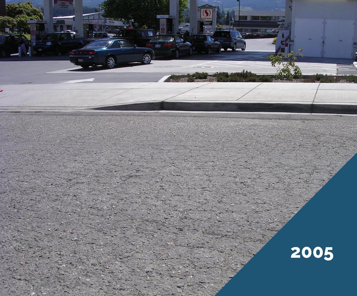 Doolittle Chip Seal - Port Angeles 2005, before DBST
