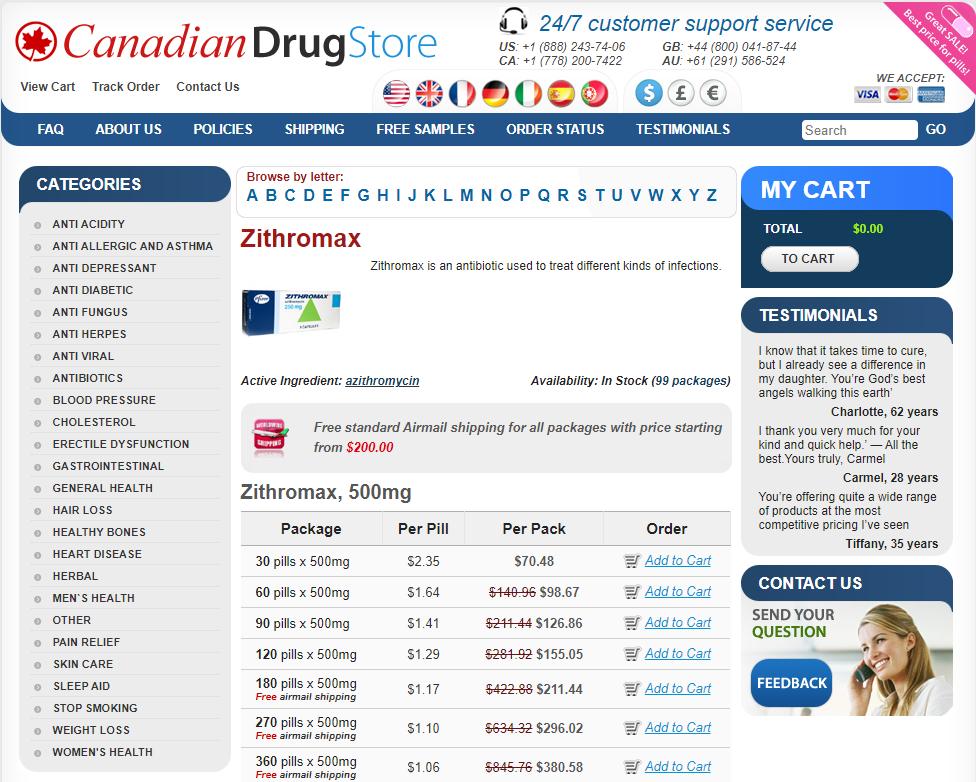 Buy Zithromax Online