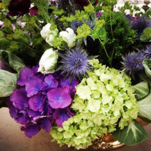 english floral arrangement