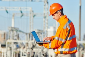 Programming at construction site