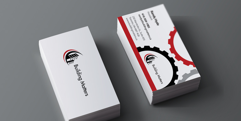 Randy's business cards