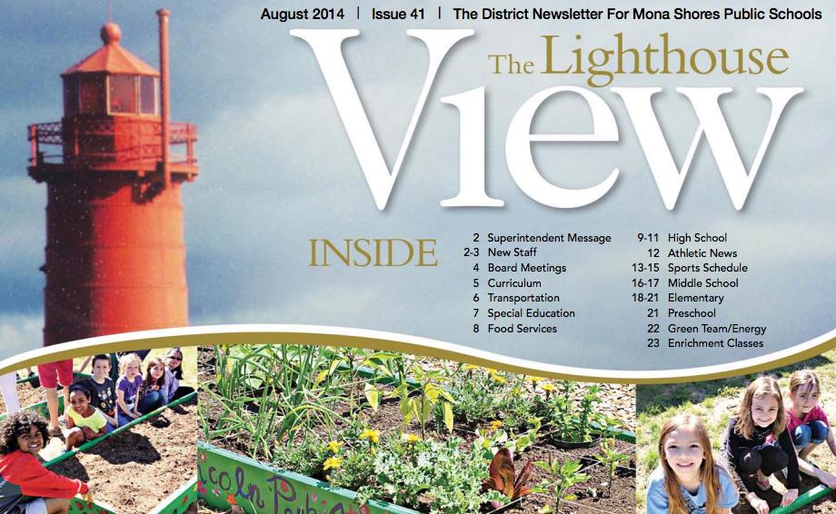 Mona Shores Lighthouse View