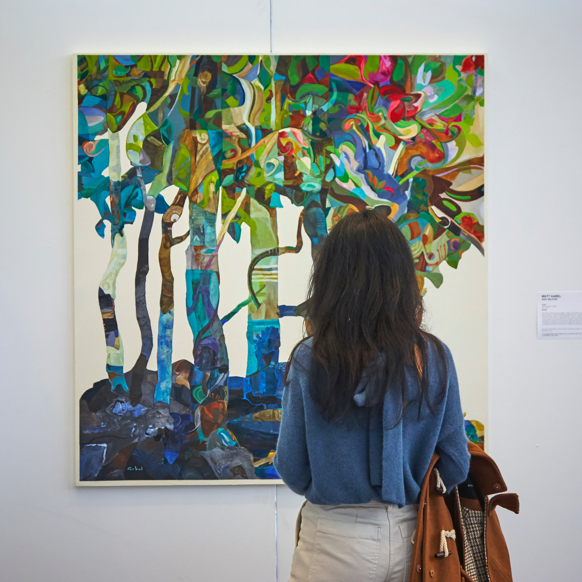 Painting by Matt Gabel in the 2020 Juried Show at Art Fair 14C
