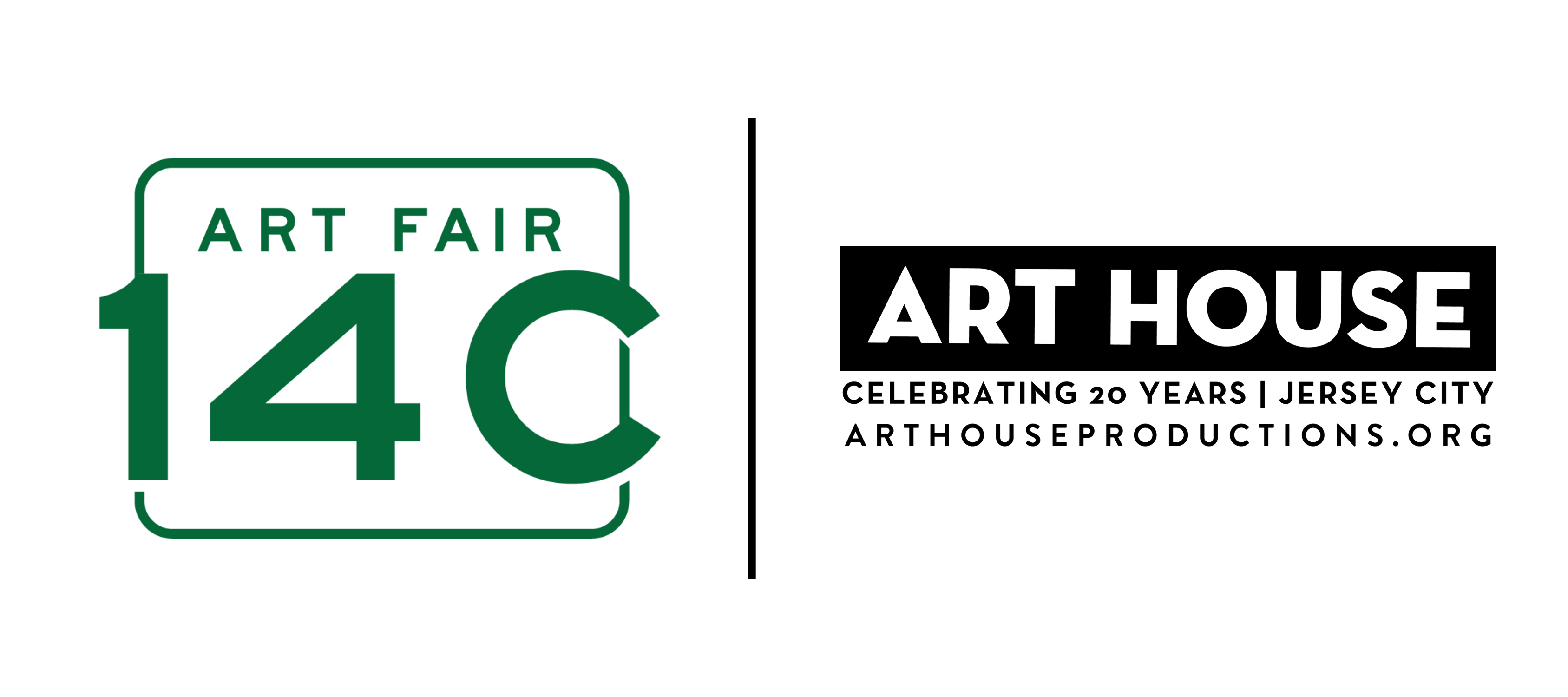 combined logo for Art Fair 14C and Art House Productions