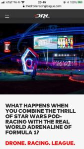 TheDroneRacingLeague.com, Drone Racing Technology