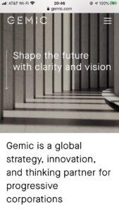 Gemic.com Global, Management Consulting