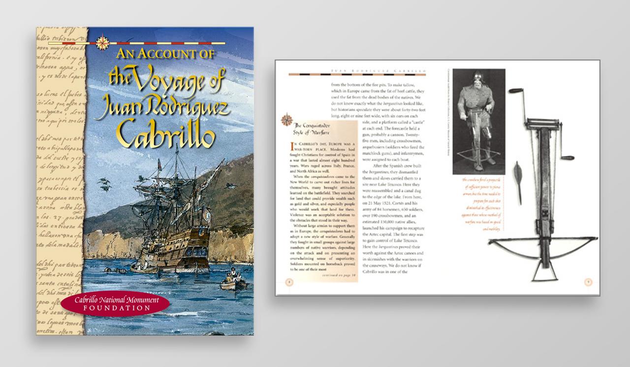 Cabrillo National Monument book design