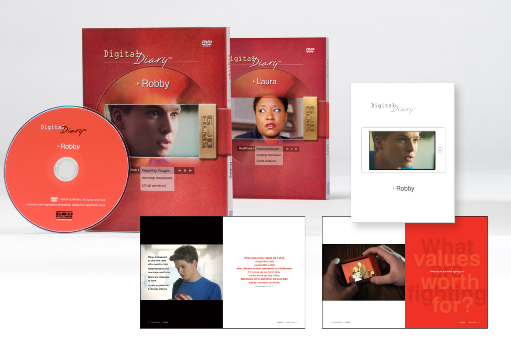 Digital Diary : DVD Group Study Resource & Study Guide Design