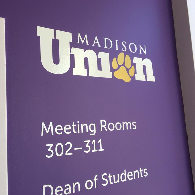 Madison Union wall logo