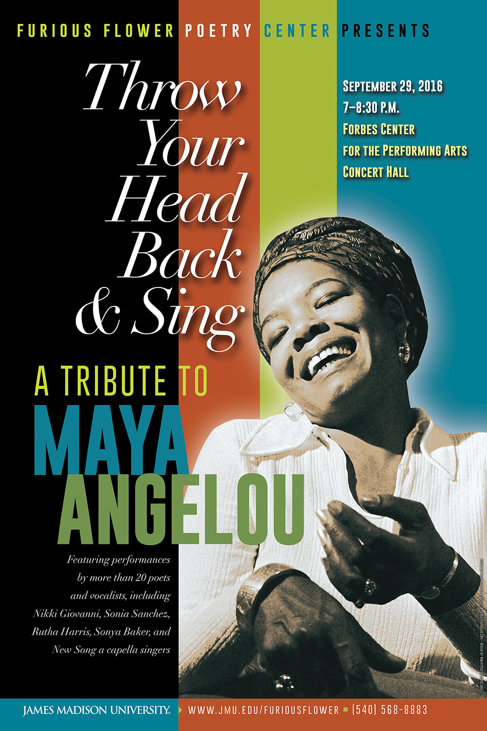 Tribute to Maya Angelou   Furious Flower Poetry Center