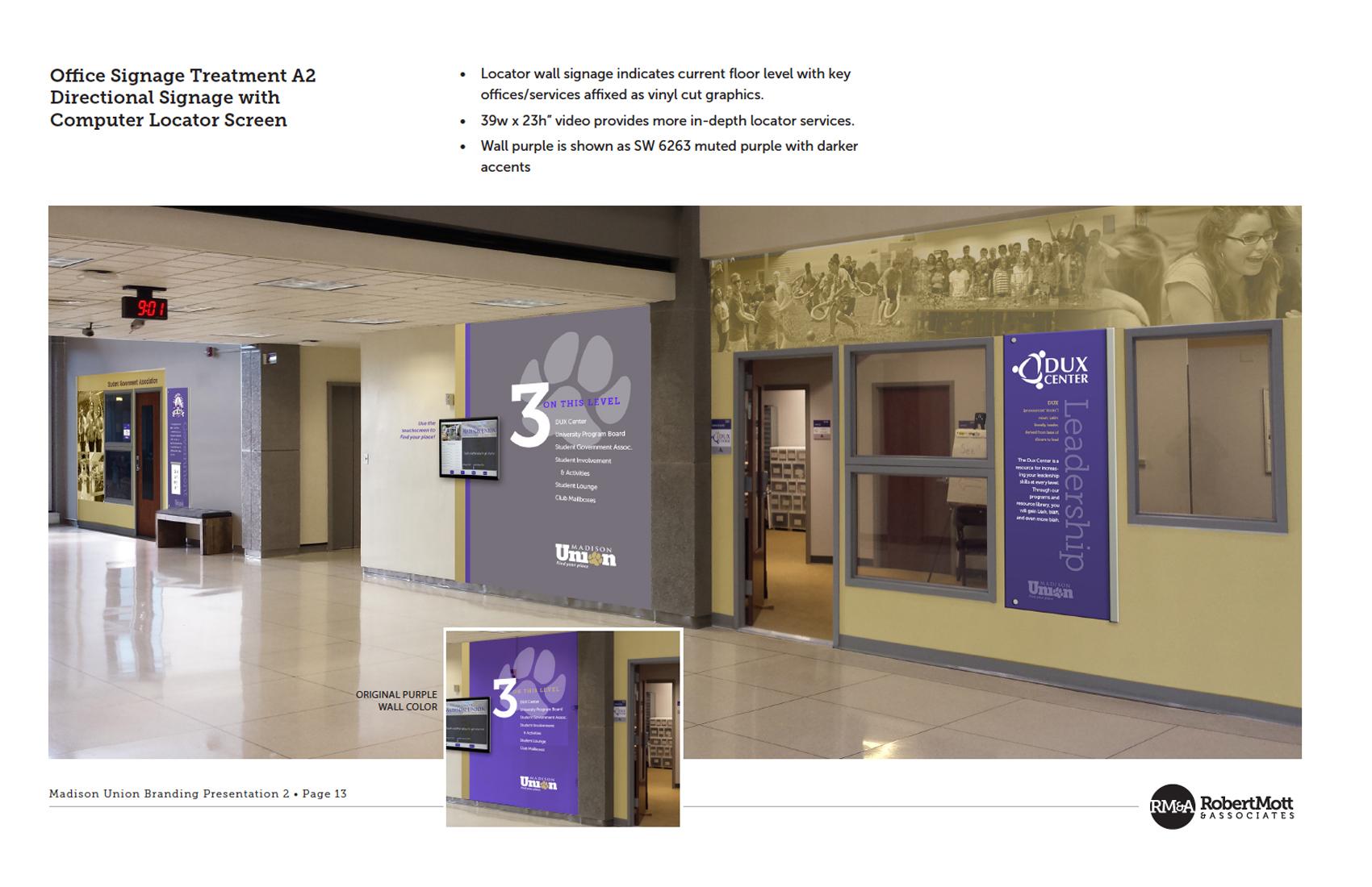 Madison Union | playbook concept for hallway decor