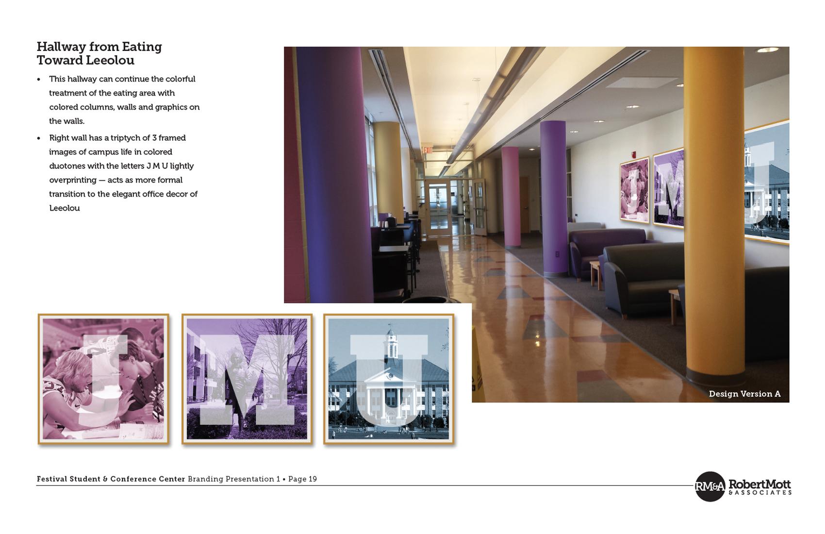Festival | Connecting corridor decor toward Leeolou Alumni Center