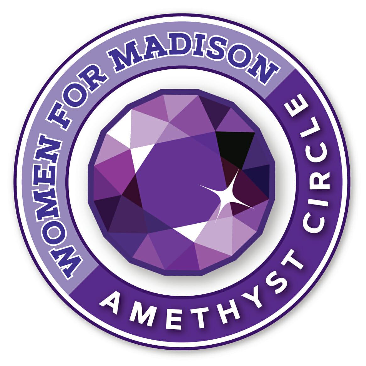 Women for Madison Amethyst Circle logo