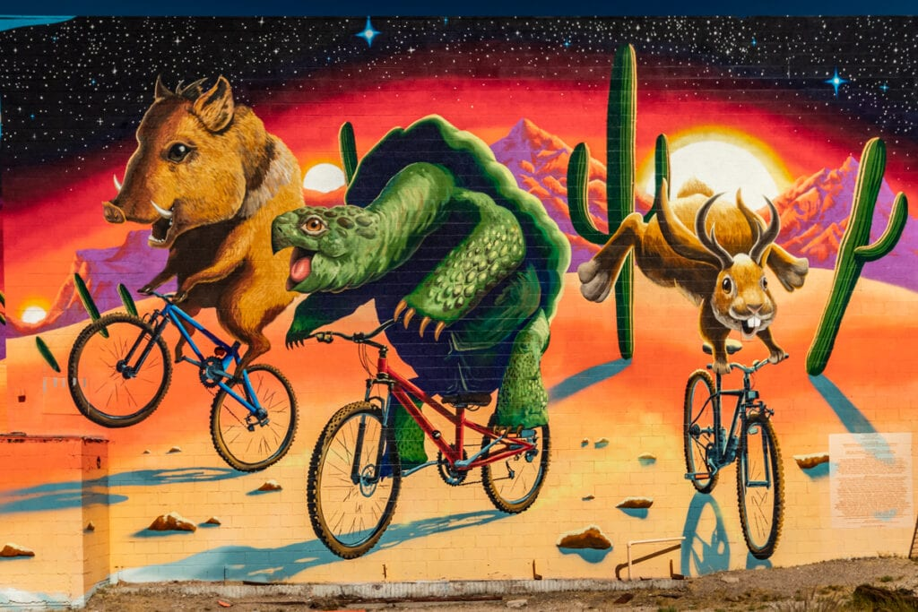 Tucson Murals - Tucson Voted The Best Big City for Art