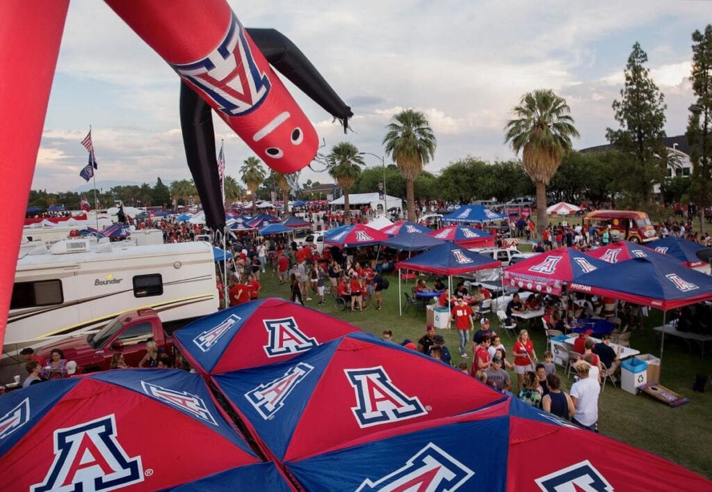The University of Arizona's Football Tailgate