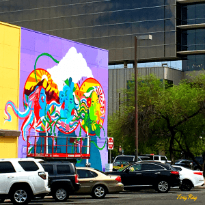 Mural in Downtown Tucson near TEP headquarters