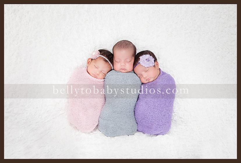 Houston Newborn photographer ~ Multiples