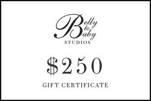 Gift Certificate Newborn Maternity Family Photography