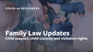 Family Law During Coronavirus