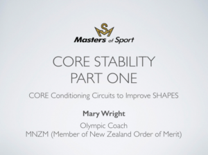 Core Stability Part 1