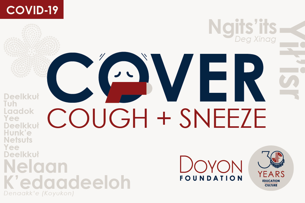 Cover your cough and sneeze: COVID-19 advice in our Native languages