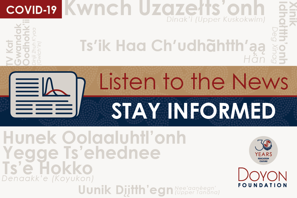 Stay informed: COVID-19 advice in our Native languages