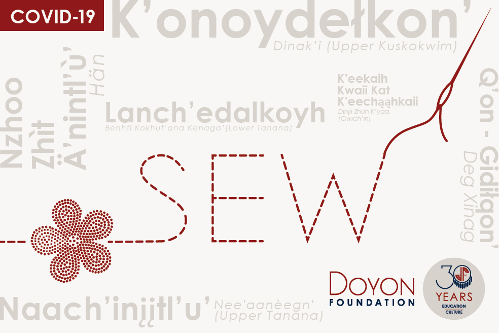 Sew: COVID-19 advice in our Native languages