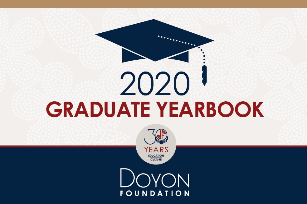 2020 Graduate Yearbook Just Released!