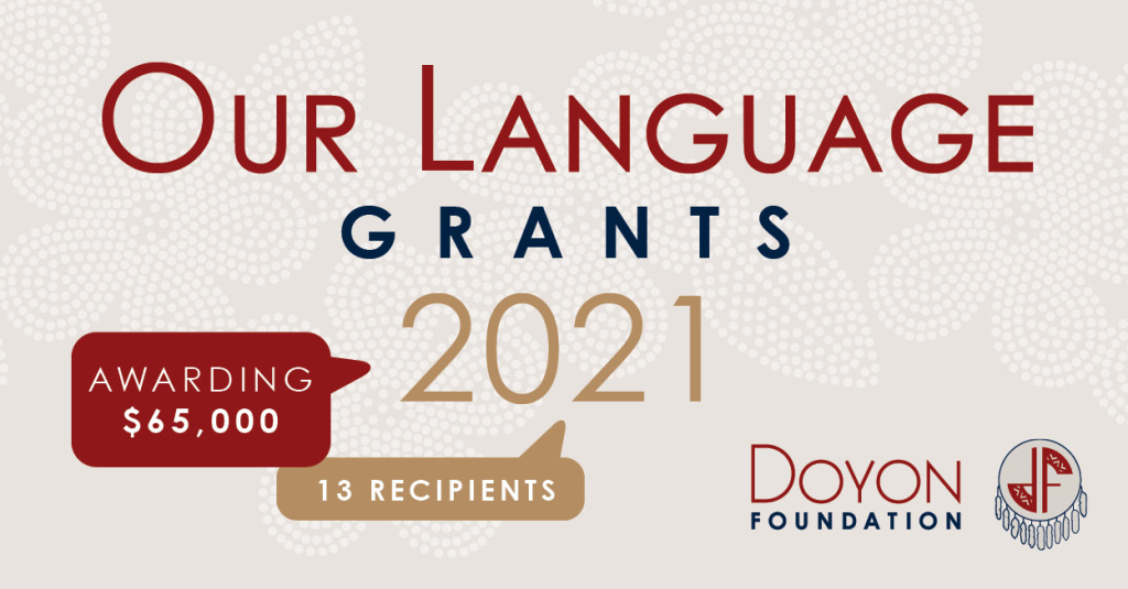 Doyon Foundation Awards $65,000 in Our Language Grants
