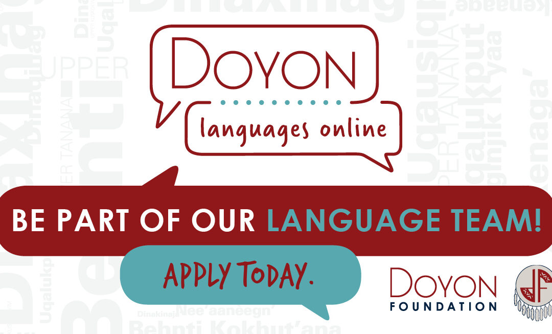 Be a Leader with Doyon Languages Online