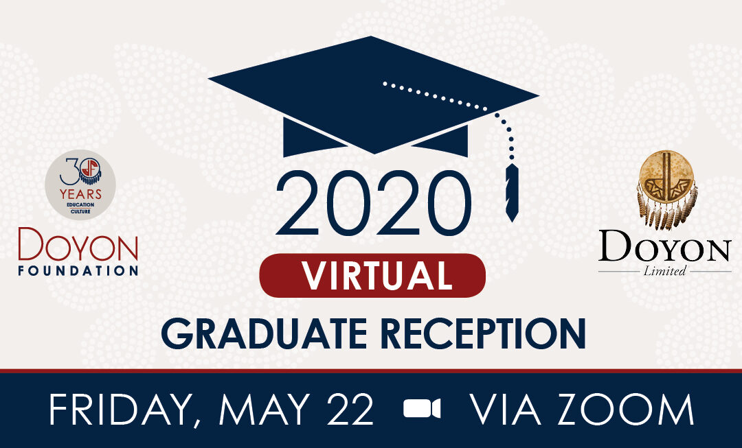 Our 2020 Grad Reception is Going Virtual!