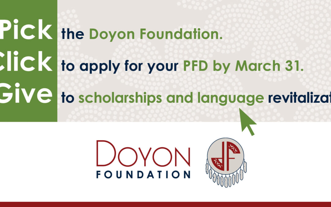 Pick. Click. Give. to Scholarships and Language Revitalization