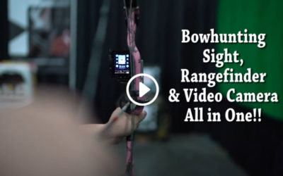 Revolutionary New Omega Bowhunting Sight, Rangefinder and Video Camera all in one!