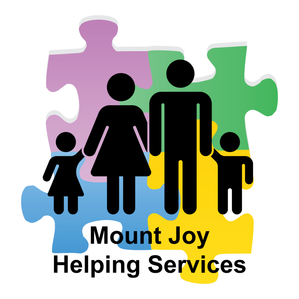 Mount Joy Helping Services Logo with Name