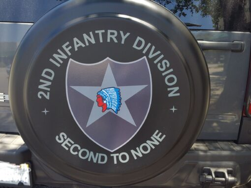 Custom Decal – Tire Cover
