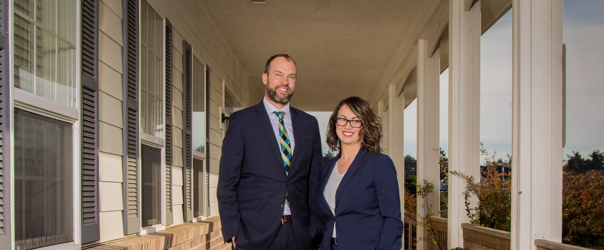 Adam and Traci amazing legal team newport oregon lincoln county