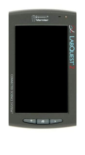 Sci-Voice Talking Labquest 2.0 image showing touch screen and navigation buttons, image 2 of 5