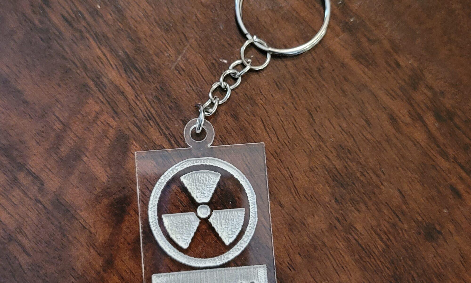 "Image of ""Rad"" keychain"